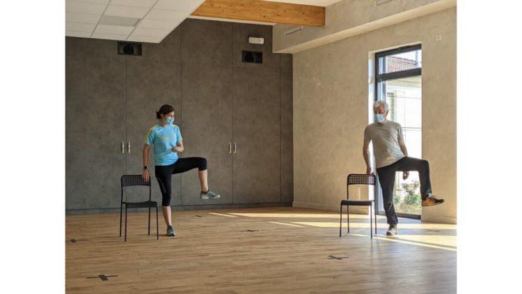 Le Centre Equilibre et l'association SIEL BLEU pour le sport santé